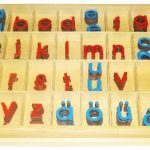 Montessori Artikel Alphabet